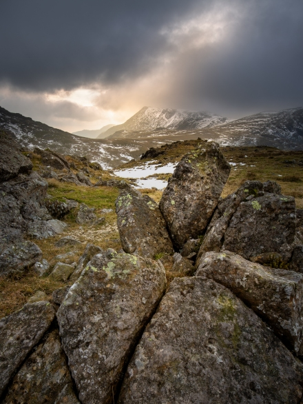 Sca Fell Massif from Allen Crags, Lake District