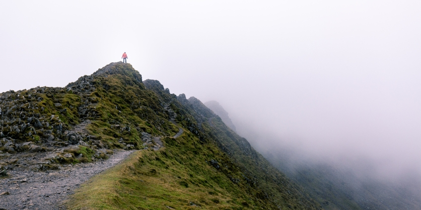 Striding Edge, Lake District